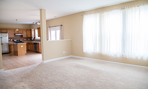 $1,485 for 550 Square Feet of Carpet Including Pad and Installation