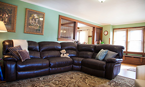 $45 for $50 Credit Toward Leather Furniture Repair, Restoration and/or Refinish