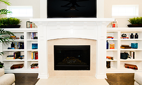 $270 for a Wood Stove Insert Cleaning (without Liner)