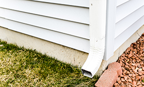 $450 for 100 Linear Feet of High-Capacity, 5-Inch Gutters and 4 Downspouts