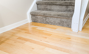 $167 Hardwood Floor Cleaning and Resurfacing