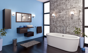 $2900 Master Bathroom Interior Design Consultation with 3-D Renderings