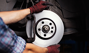 $315 for New Premium Brake Pads and Rotors, Vehicle Inspection and More