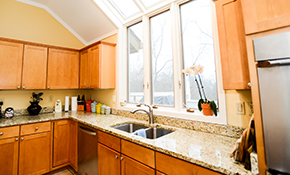 $2,699 for Custom Granite Countertop and Stainless Steel Sink--Labor and Materials Included