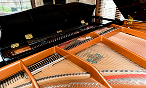 $135 Standard Piano Tuning and Sticky Key Repair, Includes Free Piano Care Kit