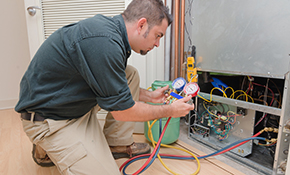 $100 for an HVAC Diagnostic Service Call and Refrigerant Leak Test