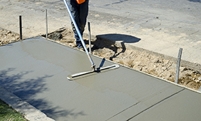 $1,999 for Installation of a New Concrete Sidewalk