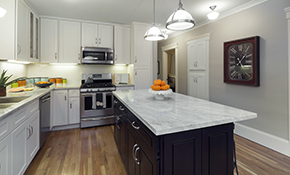 $5,499 for Custom Caesarstone Countertops--Labor and Materials Included