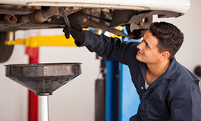 $39.99 Synthetic Oil Change