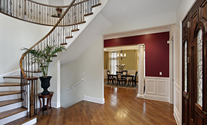 $649 Interior Painting Package for 2-Story Foyer