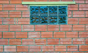 $300 for Replacing Any 2 Existing Metal Frame Basement Windows With New Clear Pattern Glass Block