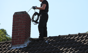 $114 Chimney Sweep and Safety Inspection, Reserve Now for $17.10