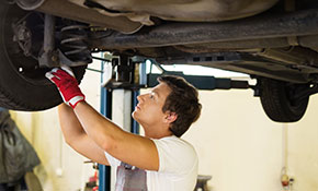 $40 Multi-Point Vehicle Inspection with Tire Rotation