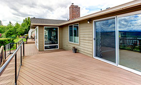 $298 for Up to 200 Square Feet of Wood Deck Restoration