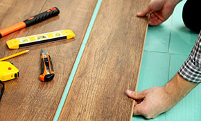 $2,900 for up to 1,000 Square Feet of Laminate Flooring Including Materials and Installation