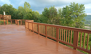 $499 Deck Pressure Washing with Stain/Sealer Application