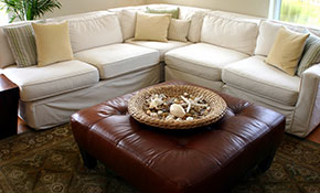 $97 for 2 Piece Upholstery Cleaning