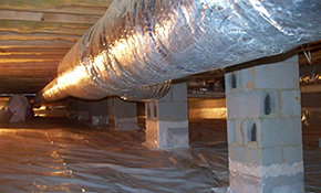 $199 for Crawlspace Vapor Barrier Installation and Crawlspace Clean-Out
