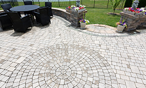 $6,399 for Pavestone or Belgard Paver Patio or Walkway Delivery and Installation