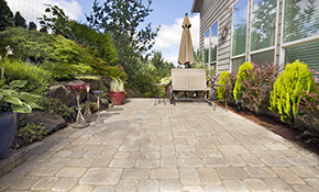 $999 Paver Patio or Walkway Delivered and Installed