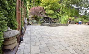 $2,079 for Paver Stone Patio or Walkway Delivery and Installation