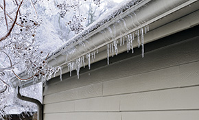$999 for Gutter/Roof De-Icer Cable and an Outdoor Electrical Outlet Installation