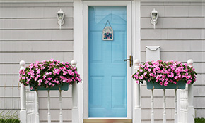 $350 for a Custom Exterior Front Door Refinishing