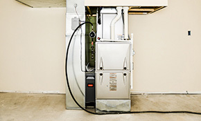 $2,385 for a New Gas Furnace Installation