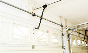 $112 Garage Door Tune-Up and Roller Replacement