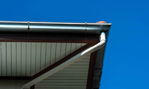 $1,400 for 300 Linear Feet of Waterproof 5-Inch Seamless Gutters or Downspouts