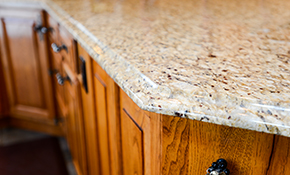 $2,499.00 for Custom Granite Countertop and Stainless Steel Sink -- Labor and Materials Included