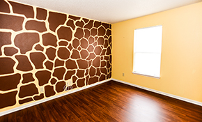$549 for 16 Hours of Wallpaper Removal, Drywall Repair, and Painting