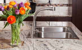 $2,610 for Custom Quartz Countertops--Labor and Materials Included