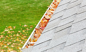 $99 Gutter Cleaning for 2,500 Square Feet