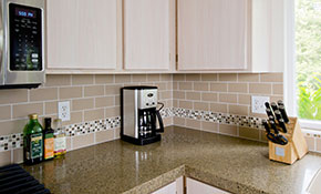 $749 for a Ceramic Tile Floor or Backsplash, Labor only