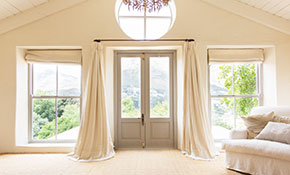 $450 for $500 Credit Toward Custom Window Treatments