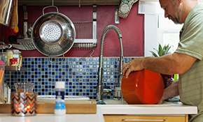 $195 for 2 Hours of Kitchen and Bathroom Caulking and Grout Restoration (Materials Included)