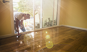 $899 for up to 350 Square Feet of Hardwood Flooring Refinishing
