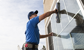 $131 Interior and/or Exterior Window Cleaning (up to 35 interior and exterior or 50 exterior only)