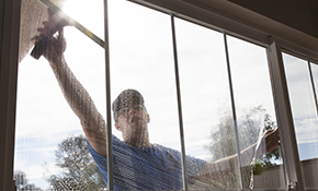 $115 Window and Screen Cleaning, Reserve Now for $11.50