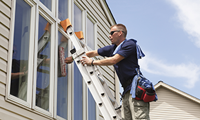 $175 Comprehensive Home Window Cleaning, Reserve Now for $26.25