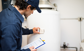 $799 for an Electric Water Heater Installation