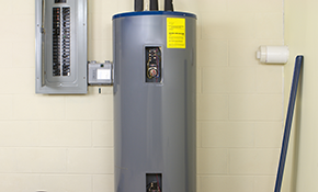 $1,080.00 for a 40-Gallon Rheem Electric Water Heater Installation