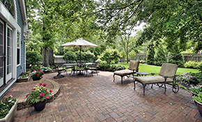 $1,619.10 for Paver Stone Patio or Walkway Delivery and Installation