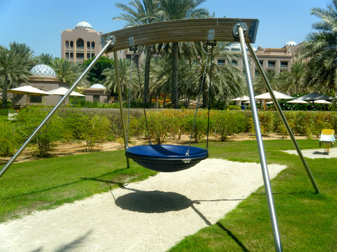 Playground in Abu Dhabi