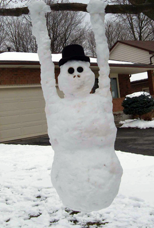 If these snowmen can play outdoors, so can you