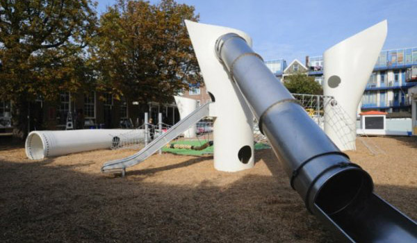 Playgrounds Made From Junk