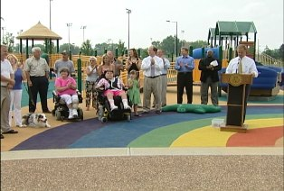 Opening of Ashley Nicole's Dream Playground