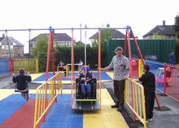 an accessible playground