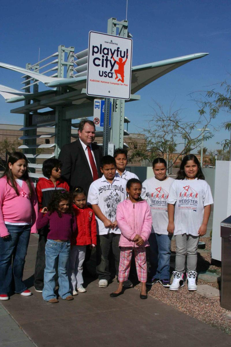 Mayor Scott Smith in Mesa, Arisona